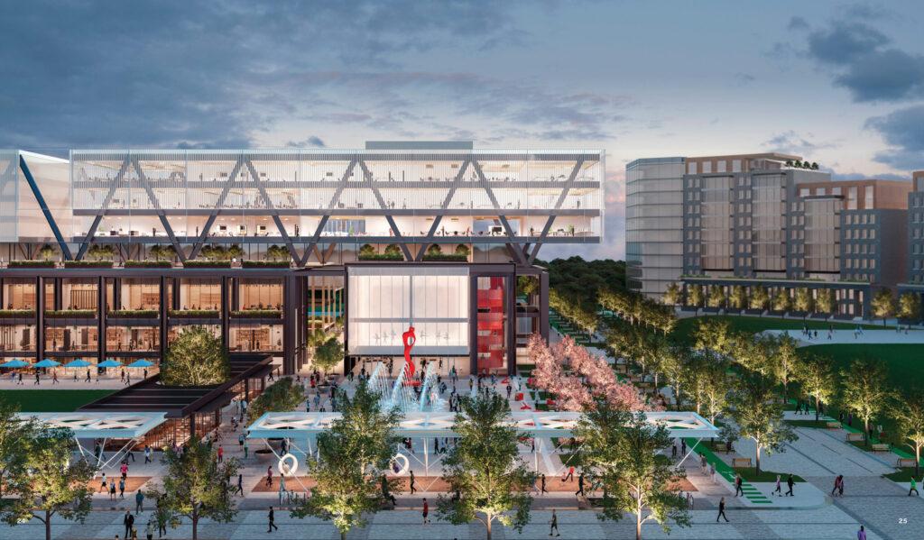 Fox Park Mixed Use Development Vision Exterior Rendering
