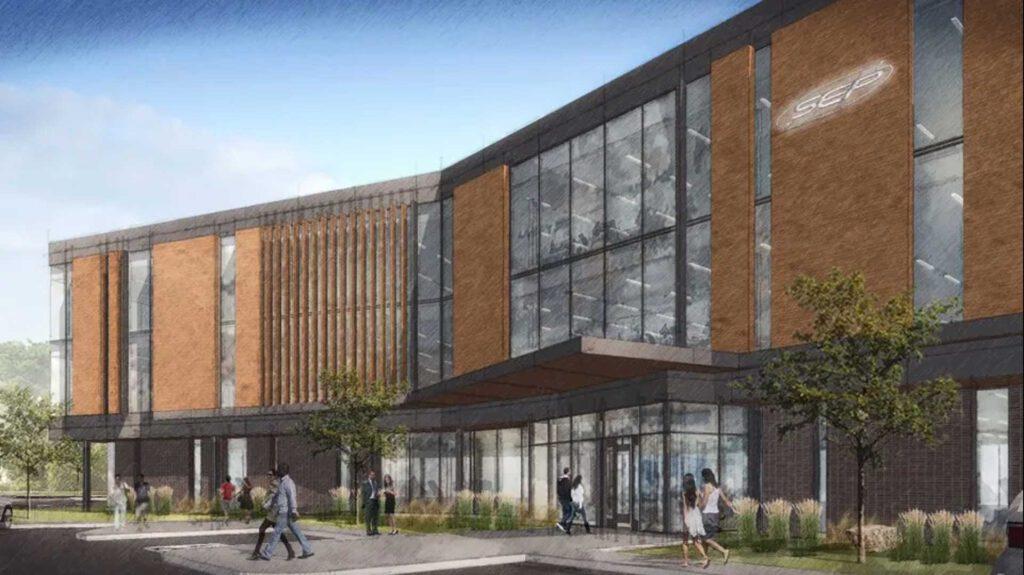 SEP Build to Suit Westfield Rendering