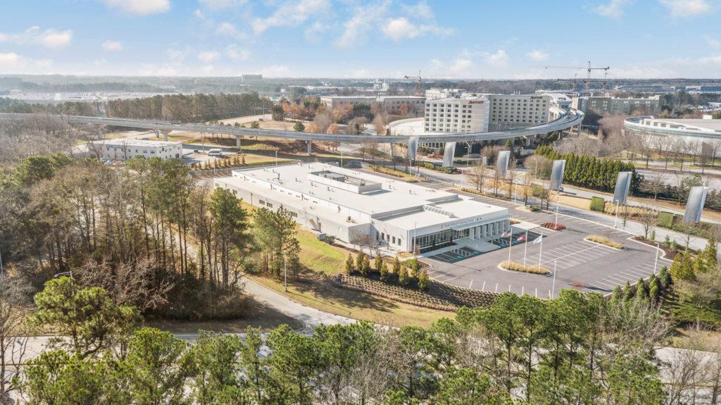 BMW Aerial Campus
